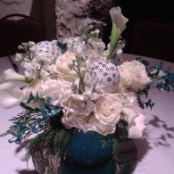 Winter Themed Centerpiece