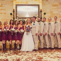 Full Bridal Party Bouquets and Boutonierres